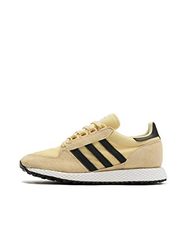 adidas Forest Grove, Zapatillas de Gimnasia para Hombre, 37 1/3 EU, Amarillo (Easy Yellow/Core Black/Ftwr White)