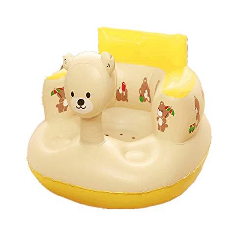 ZREAL Enfants bébé Gonflable Chaise Canapé Siège de Bain Salle à Manger Poussette PVC Infantile Tabouret Portable de Jeu Tapis de Jeu