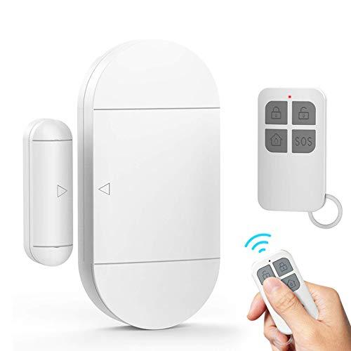 Tür- und Fensteralarm, 130 dB, Melder für Türen und Fenster, kabellos, mit Fernbedienung und Batterien, Diebstahlschutz, magnetischer Sensor für Sicherheitssystem Haus und Kinder