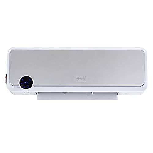 BLACK+DECKER BXSH37011GB 2KW Digital Wall Mounted Downflow Heater
