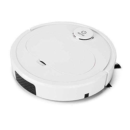 HNLSKJ Inteligente botón de Barrido Robot for el hogar Toque de vacío Recargable Barrer trapear el Triple barredora (Color: Blanco) (Color: Blanco) ggsm (Color : White)