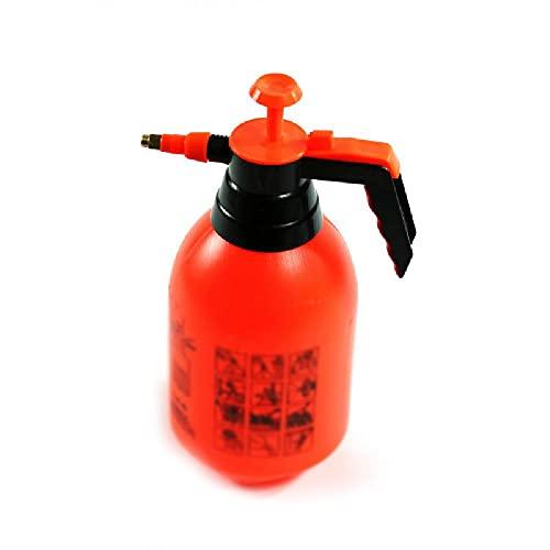 ZKX Gartendruckbewässerungsdosen, Gießkannen, Gießdosen für Innen- und Außenanlagen, geeignet für Indoor- und Gartenanwendungen,Orange
