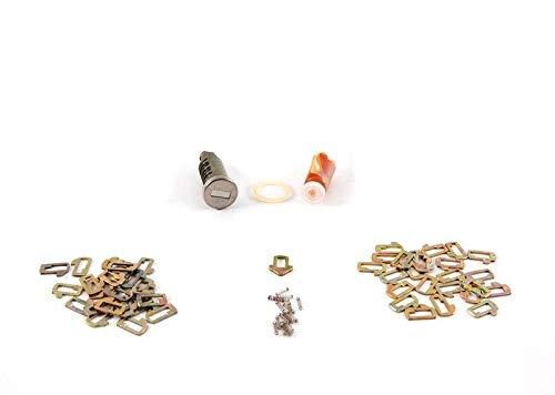GTV INVESTMENT E34 E36 Türschloss Zylinder rechts Reparatursatz 8135960 51218135960 NEU