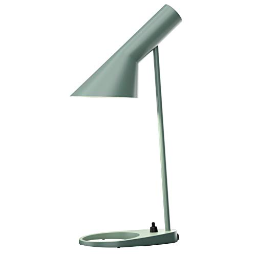 AJ Mini Table Lamp, Louis Poulsen, Tischleuchte Entworfen von Arne Jacobsen (Blass Petroleum)