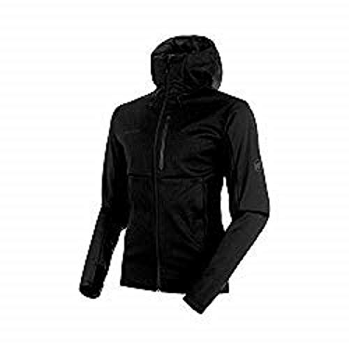 Mammut Herren Softshell-Jacke mit Kapuze Ultimat V Hooded, schwarz, XL