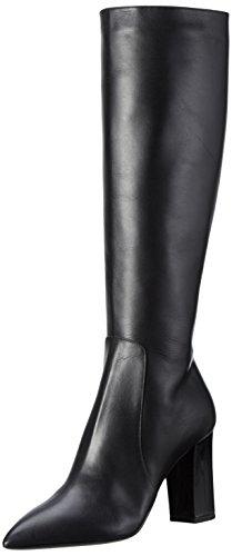 Pollini Damen Langschaft Stiefel, Schwarz (Black 000), 38 EU