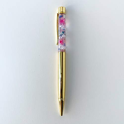 Lulu's ルルズ ハーバリウム ボールペン ゴールド サイズ:長さ約15cm ゴールド Lulu's-1561
