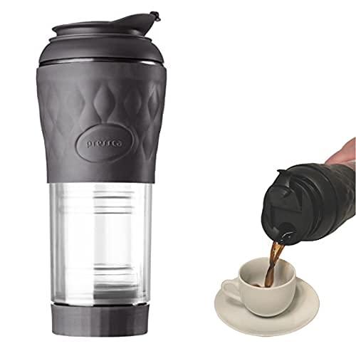 Cafeteira Portatil Pressca Preto Ebano - 350 ml