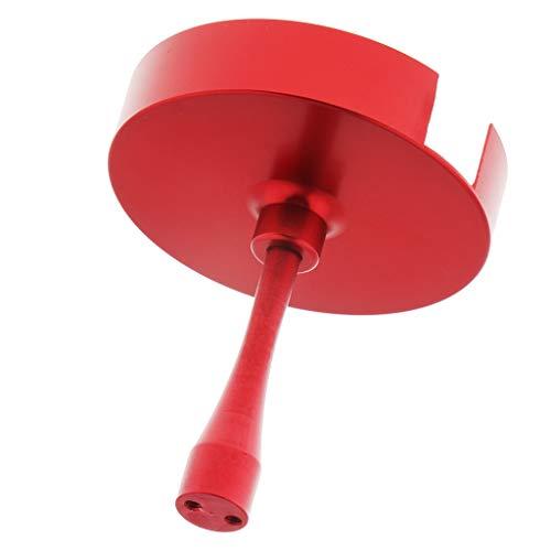 Bonarty Estuche De Stent con Soporte De Montaje Anti-interferencia GPS para GPS para APM NAZA Zero RC Drone - Rojo