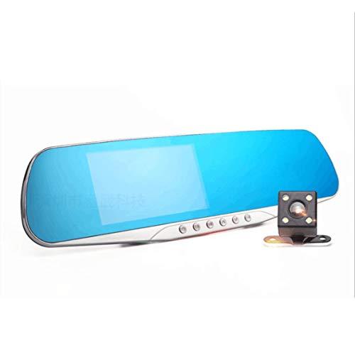 Cosye 4.3 Pulgadas IPS Espejo retrovisor del Coche Cámara DVR ADAS Dash CAM Video Recorder Lente Principal Gran Angular de Alta definición