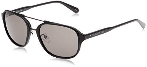 Calvin Klein JEANS EYEWEAR CKJ19517S gafas de sol, negro, 5618 para Hombre