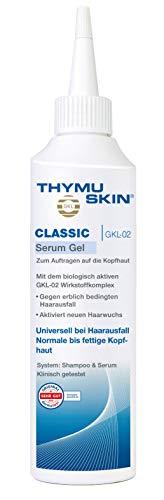 Thymuskin Classic Serum - Mittel gegen Haarausfall für Frauen & Männer - aktiviert neuen Haarwuchs - durch klinische Studien bestätigt - keine Nebenwirkungen - 200ml