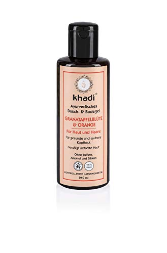 khadi Ayurvedisches Duschgel Granatapfelblüte & Orange