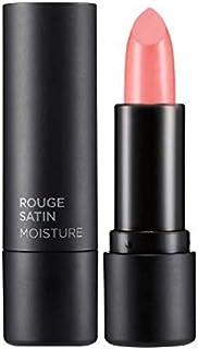 The Face Shop Rouge Satin Moisture Lipstick, Be01 Cozy Beige, 1 ml