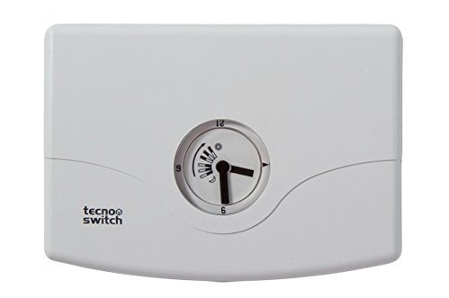 Cronotermostato meccanico da parete Tiziano - Tecnoswitch CR115BI