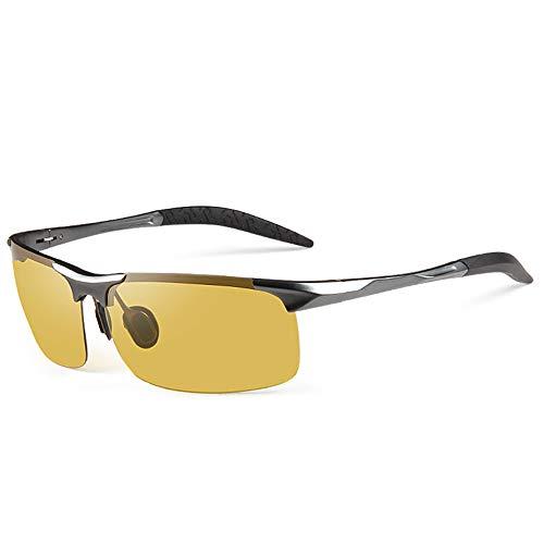 Y&J Gafas de Sol polarizadas de Titanio Puro GH-PH día