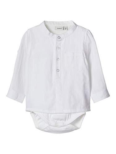 NAME IT Child Body-Hemd Baumwoll 62Bright White