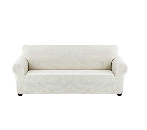 xzl Fundas de sofá para sofá de 3 asientos, tamaño grande, protector de muebles para sillón, lavable tela jacquard suave, para niños, mascotas (L, E)