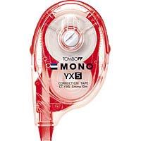 トンボ鉛筆 修正テ−プ 詰め替えタイプ モノYX5 CT-YX5 10個