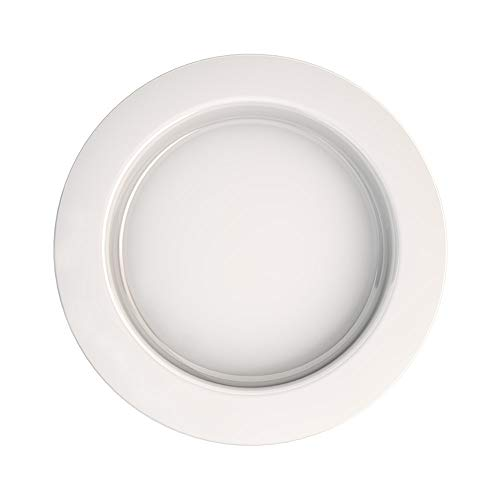 Ornamin Plate with Sloped Base Ø 27 cm White (Model 921) / Eating aid, Plate Guard, Non-Slip Plate