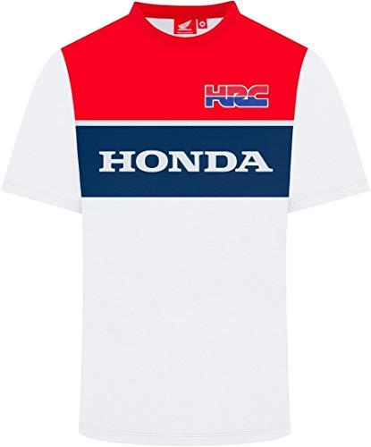 HRC Racing T-Shirt con Inserti Bianca - XL