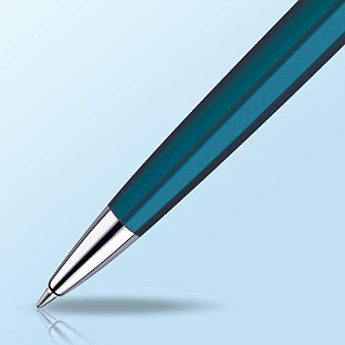 ウォーターマンボールペン油性メトロポリタンエッセンシャルメタリックブルーCTS0947090正規輸入品