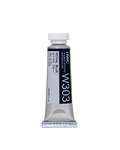 Holbein Artist's Watercolor 15ml Tube (Royal Blue) W303