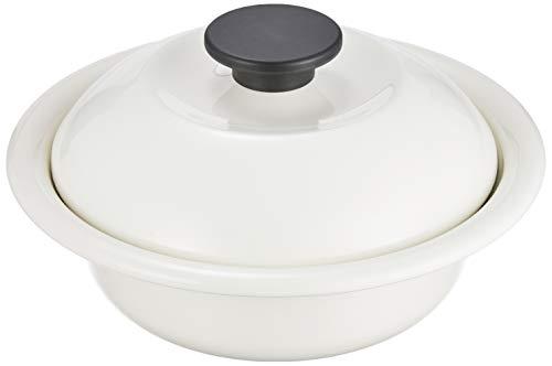 野田琺瑯 ココナベ 個々鍋 小 乳白 日本製 KO-19MW