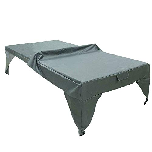 Best Deals! LVOERTUIG Pingpong Table Cover, Outdoor Table Tennis Cover, Waterproof Polyester Pingpon...