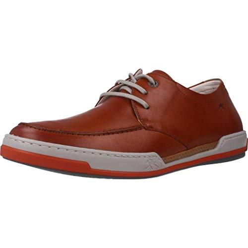 Fluchos   Zapato de Hombre   Chios F0885 Habana Cuero Com.2   Zapato de Piel   Cierre con Cordones   Piso TR