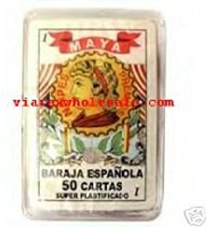 Amazon.com: Baraja Espanola - 50 Cartas - Super Plastificado ...