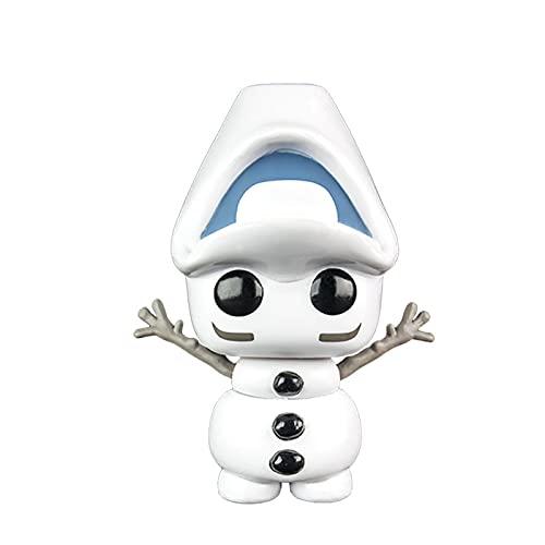 SDFH Funko Pop Vinyl Anime Figuras Frozen Dolls # Handstand Olaf 10Cm Kawaii Q Versión Muñeca Figura De Acción Juguetes Modelo Decoración De Habitación En Caja Regalos para