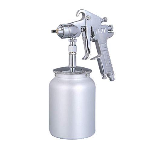 DX Spray Gun Gravity Feed Air,W-77 met 3mm grote diameter mondstuk en 1L grote capaciteit gieter, geschikt voor buiten, Nozzlediameter,3.0