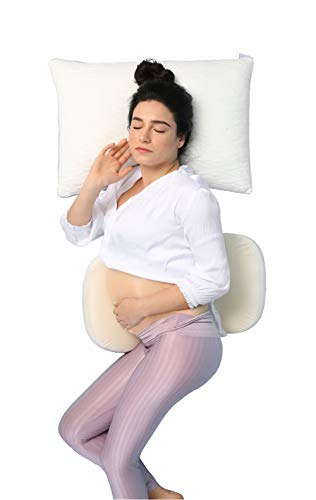 LightEase Sliced Memory Foam Pregnancy Maternity Body Pillow Side Sleeping...