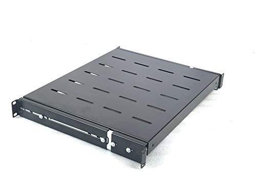 Raising Electronics Sliding Rack Server Shelf 1U 19