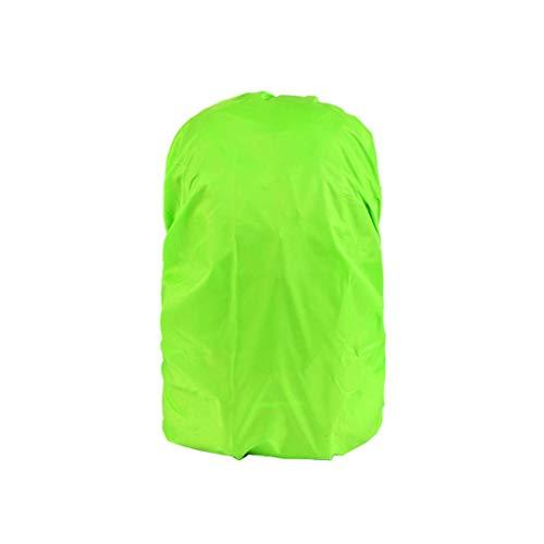 Mochila Cubierta Impermeable para Bolsos de Escuela Actividades al Aire Libre Bolsas de Equipaje Bolsas Lluvia/Cubierta de Polvo Verde 35-40 L