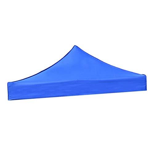 Baoblaze Remplacement Toil Toit de Tonnelle Imperméable Auvent Bâche Tente de Camping - Bleu 3x3M, Gros
