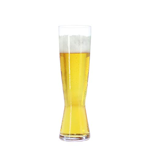 Spiegelau & Nachtmann, 4-teiliges Pilsstangen-Set, Kristallglas, 425 ml, 4991970, Beer Classics