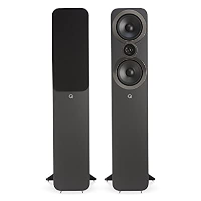 Q Acoustics 3050i Floorstanding Speakers (Pair) (Graphite Grey) from Q Acoustics