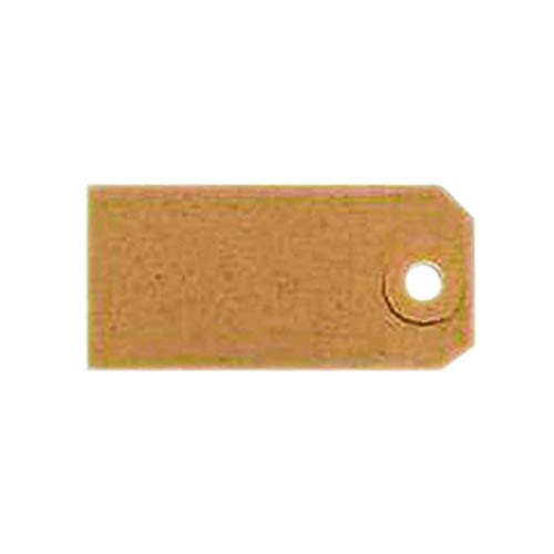 Unstrung Tags 1A 70 x 35mm Buff Single (Pack of 1000) TG8021 FINCHLEY Pen Free