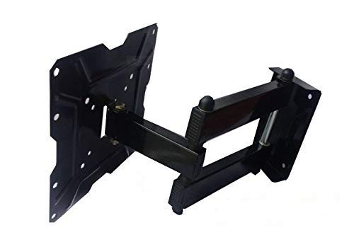 JAY Accen Heavy Duty Metal Wall and Ceiling Mounts for 14-32inch LED/ LCD TV (Black)