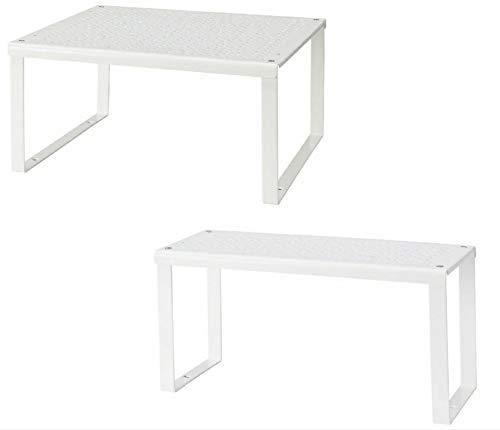 Ikea Variera Wardrobe Organizer, Weiß 32 x 28 x 16 cm und 32 x 13 x 16 cm