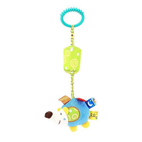 Baby rammelhanger, speelgoed voor bed, kribbe, kinderwagen, kleine kinderen, kleine kinderen, cartoon, dier, zachte pluche, decoratie pop met bijtring igel