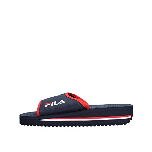 FILA Tomaia men Herren Slipper, Blau (Dress Blue), 43 EU