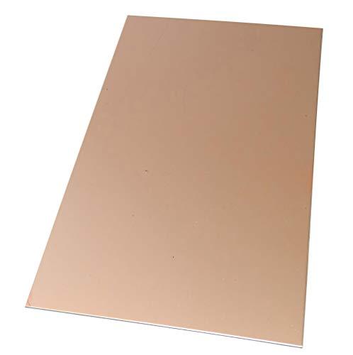 Aerzetix plaat van koper voor printplaat 160/100/1,0 mm 35 μm aluminium C40746