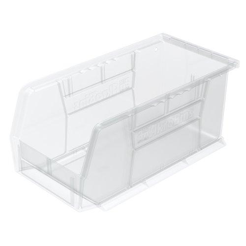 Akro-Mils 30230 Akro-Abfalleimer, Kunststoff, 28 x 12,7 x 12,7 cm, Beere, 12 Stück, 30230SCLAR
