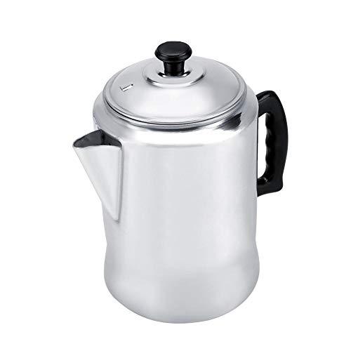 Aluminum Alloy Stovetop Espresso Coffee Maker Percolator Pot Moka Tool Lid Home