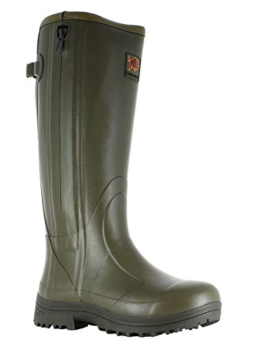 "Gateway1 Herren Pheasant Game 18"" 5mm Side-Zip Jagdstiefel, Grün (Dark Olive 2145), 45 EU"