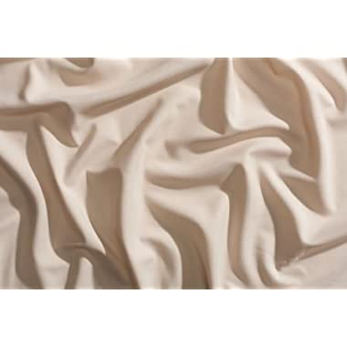PeachSkinSheets Night Sweats: The Original Moisture Wicking, 1500tc Soft REGULAR KING Sheet Set ALMOND