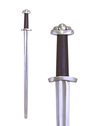 Battle-Merchant Wikingerschwert Wheeler Typ VI, für leichten Schaukampf, SK-C - Schwert Echt Metall Wikinger Schaukampfschwert
